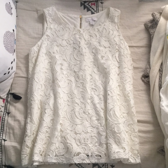 Charter Club Tops - Ivory Lace Blouse (Charter Club)